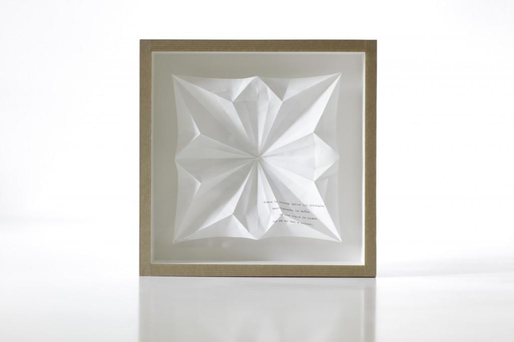 Origami plenitud de la primavera