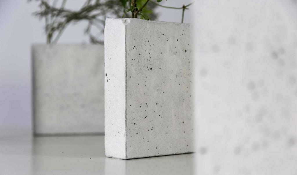 Macetas de cemento