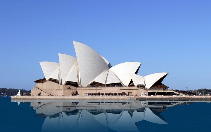 Opera de Sidney. Icono de la arquitectura del siglo XX