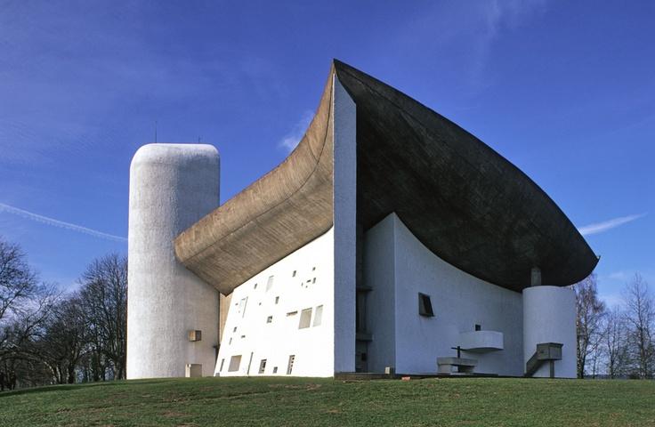Capilla de Notre Dame du Haut. Le Corbusier