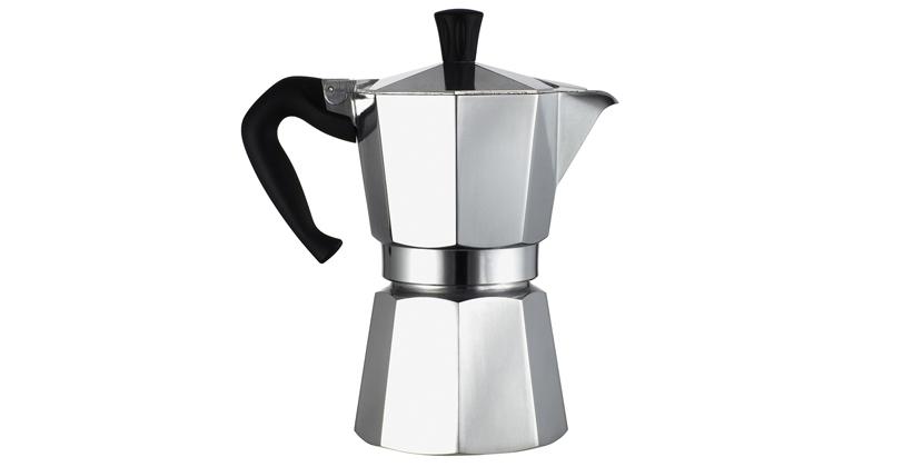 Cafetera Moka Express. Un clásico del café y del diseño