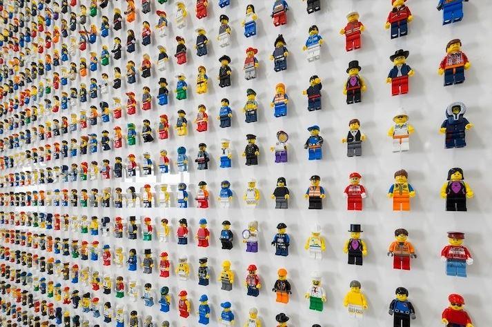 El mundo Lego es casi casi infinito