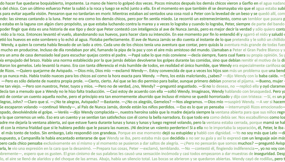 Peter Pan texto completo