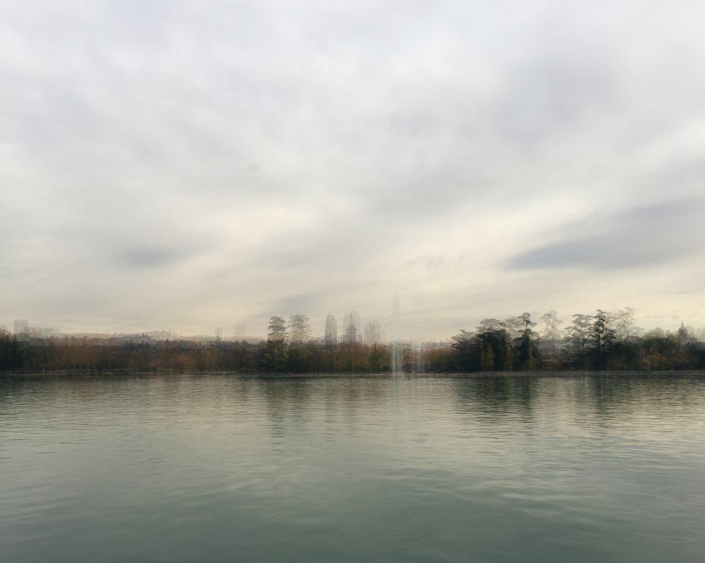 Lizuáin. fotografía lago de la casa de campo